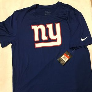 NY Giants NIKE DRI-FIT Short-Sleeve Tee. With tags